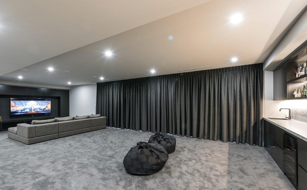 luxury home theatre room adelaide